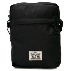 Черная мужская сумка мессенджер через плечо Levi's - Чоловіча Levis