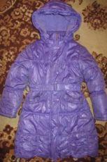 Зимнее пальто КИКО, р.122 + зимняя шапка в ПОДАРОК