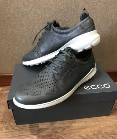 9ae74e41 ECCO кожаные кроссовки, туфли, сникерсы, обувь, мужские 46 р оригинал
