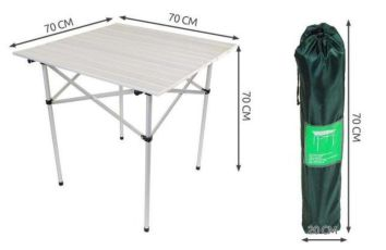 Стол 70х70 алюминиевый столик стіл стол складной туристический