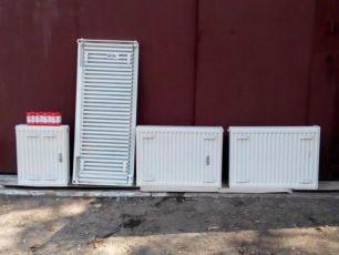 Радиатор стальной батарея Kingrad + регулятор danfoss 5030 бу