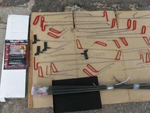 инструменты рихтовка вмятин без покраски набор pdr tools made in usa