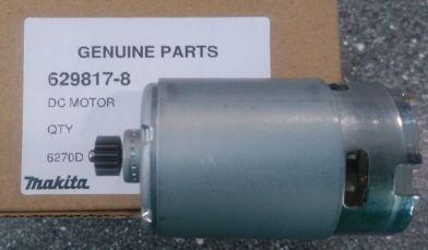 Двигатель 12В 629817-8-4 для шуруповерта Makita 6271D ОРИГИНАЛЬНЫЙ