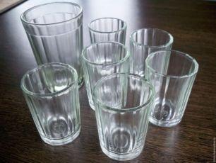 гранёные граненые стаканы рюмки стопки