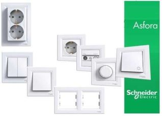 Розетки и выключатели Schneider Electric