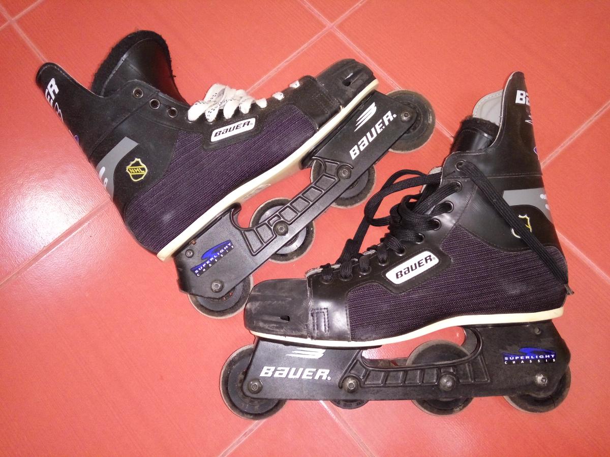 a937334b Хоккейные ролики Bauer NHL 43-44 стелька 28.5 см.