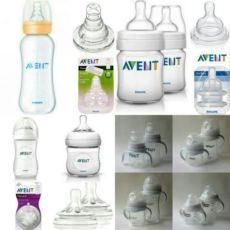 Новые бутылочки, соски, носики Philips AVENT в ассортименте, ручки