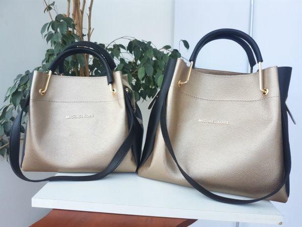 959d2487f2a2 Женская кожаная сумка Michael Kors мишель корс майкл корс комбинирован