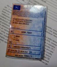 Обложка польского техпаспорта pl, lt
