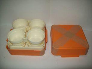 Набор посуды туриста для пикника СССР