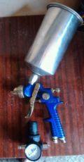 Краскопульт hvlp h 881 w