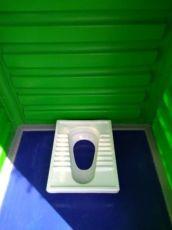 Чаша Генуя Унитаз в биотуалет Туалет на септик Унітаз в Біотуалет яма