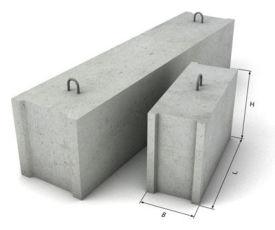 Фбс, Фундаментные блоки , Бетонные блоки ( бетонный блок )