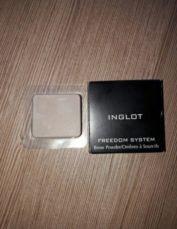 Тени для бровей inglot инглот #564 +bourjois air mat пробн. подарок