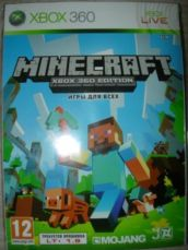 Minecraft. Новый диск (xbox360)
