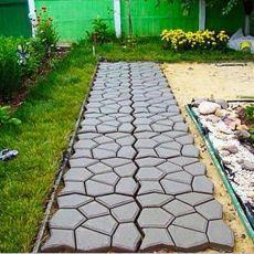 Садовая дорожка своими руками, форма для бетона.