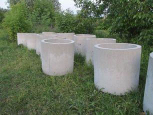 Круги на криницю септік скважину кільця круг бетонний пластифікований