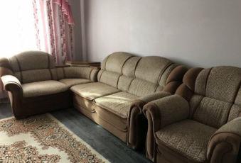 Угловой диван + кресло срочно