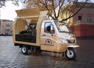 Мобильная Кофейня (трицикл) - 133375 грн + 60000 грн кофе-оборудование