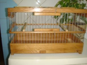 Новая клетка для кенара и других птиц!!!