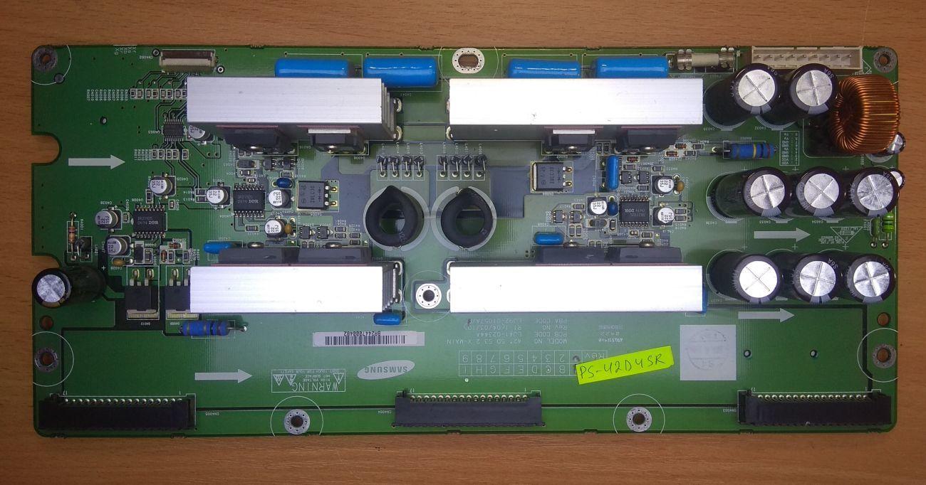 X-MAIN LJ41-02344A на SAMSUNG PS-42D4SR