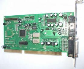 Винтажная звуковая карта ISA Yamaha YMF719E-S rev 1,2 Genius A151-A00
