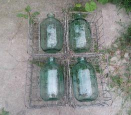 СССР бутыль 10 л 4 шт стеклянные бутыли для вина банки банка