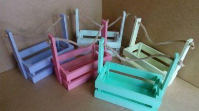 Ящик деревянный, Кашпо для цветов, Ящик подарочный