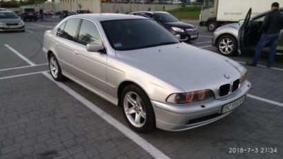 BMW e39 525 Exlusive Edition m54b25 бмв е39 м54б25 steptron стептрон