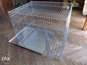 Выставочная переноска для кошки клетка для собак 60х50х53 см