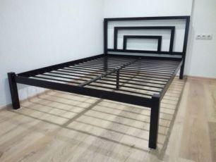 Кровать БРИО, металлическая кровать, кровать с металла, кровать 160