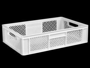 Пластиковые ящики для хранения пищевых продуктов 600*400