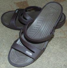 Шлепанцы женские сандалии босоножки Кроксы / Crocs размер W6