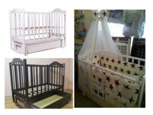 Дитячі ліжечка, комплекти та матраци