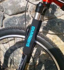 Защита вилки велосипеда