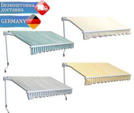Маркізи 3х2,5 навіси висувні ролети Німеччина Безкоштовна доставка