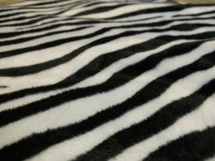 Ткань меховая принт зебра лепард жираф тигр