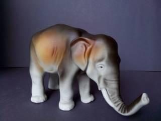 Фарфоровая статуэтка фарфор Чехия Royal Dux Bohemia Слон 2
