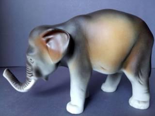 Фарфоровая статуэтка фарфор Чехия Royal Dux Bohemia Слон 5