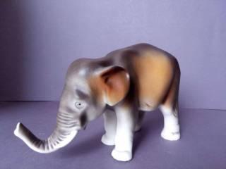 Фарфоровая статуэтка фарфор Чехия Royal Dux Bohemia Слон 3