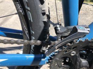 Горный велосипед найнер cube aim рама 21, колеса 29 7