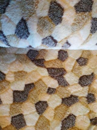 Плед покрывало 200х220 см мозаика 3