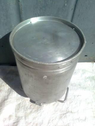 Алюминиевые бидоны. 3