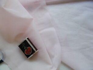Ткань капрон сетка розоватого тона 1 кусок. Для рукоделия, поделок