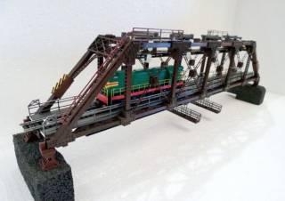 Мост ж/д, масштаб 1:87 Н0. Продажа - обмен!!! 5