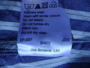 Рубашка  Joe BROWNS  (M) 9