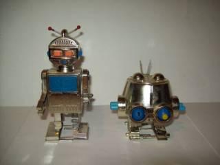 Игрушка Робот заводной про-во СССР
