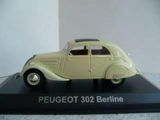 Peugeot 104/Peugeot 302 1:43 Norev 2