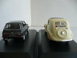 Peugeot 104/Peugeot 302 1:43 Norev 5