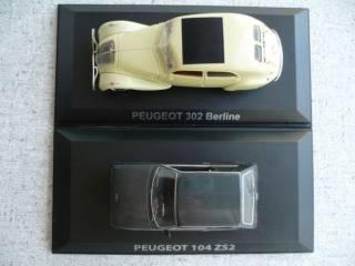 Peugeot 104/Peugeot 302 1:43 Norev 6